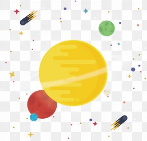 Solar System View - Solar System Euclidean Vector Milky Way PNG