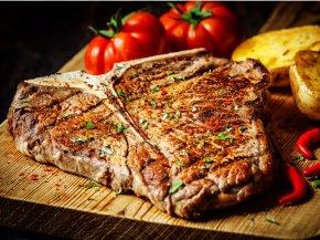 Grill - Chophouse Restaurant T-bone Steak Grilling Doneness PNG