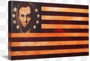 Vintage Flag - Flag Of The United States Abraham Lincoln Imagekind PNG