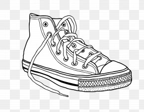 Shoes - Converse Sneakers Drawing Clip Art PNG