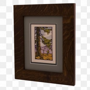 Wood - Picture Frames Solid Wood Miter Joint PNG