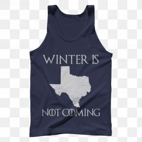 Winter Is Coming - T-shirt Texas Gilets Winter Is Coming Sleeve PNG