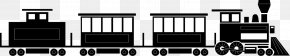 Train - Train Rail Transport Clip Art Track Openclipart PNG