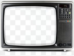 Old TV Image PNG