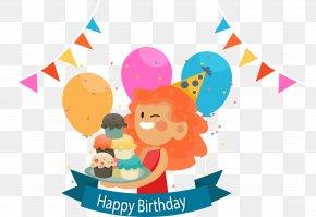 Happy Birthday Party - Birthday Cake Party Happy Birthday To You PNG
