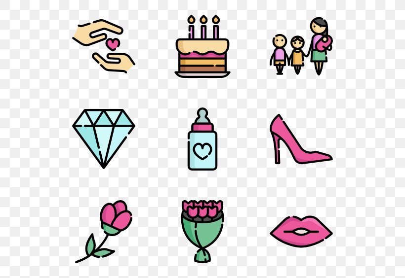 Mother's Day Computer Icons Clip Art, PNG, 600x564px, Mother S Day, Area, Artwork, Family, Happiness Download Free