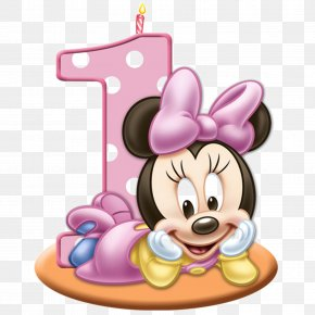 Minnie Mouse - Birthday Cake Wedding Invitation Greeting & Note Cards Clip Art PNG