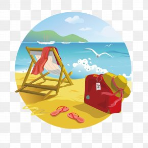 Beach - Tropical Islands Resort Beach Summer Clip Art PNG