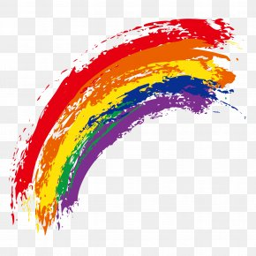 Rainbow - Rainbow Watercolor Painting Royalty-free PNG