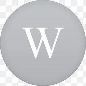 Wikipedia - Brand Font PNG