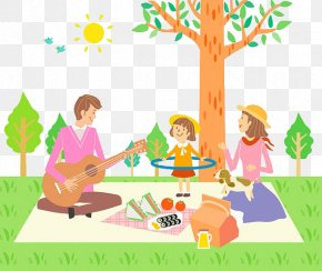 Family Picnic - Picnic Photography Sandwich Download Illustration PNG