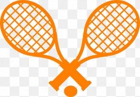 Tennis Racket Clip Art , Royalty - Tennis Racket Rakieta Tenisowa Clip Art PNG