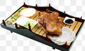 Bamboo On The Roast Chicken - Roast Chicken Barbecue Chicken Fried Chicken PNG