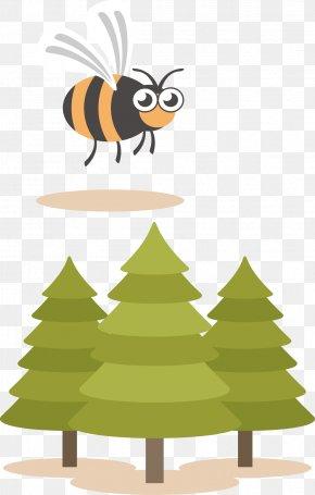 Bee Vector - Bee Euclidean Vector Clip Art PNG