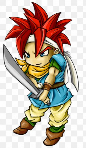 Chrono Trigger Crono - Clip Art Illustration Legendary Creature Cartoon Supernatural PNG