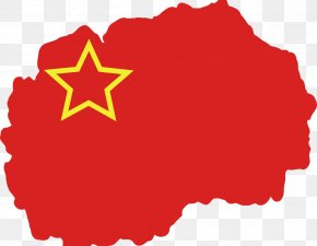 Youtube Play Button - Socialist Republic Of Macedonia United States Flag Of The Republic Of Macedonia PNG