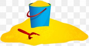 Sand Pail And Shovel Clip Art Image - Yellow Animal Headgear Clip Art PNG