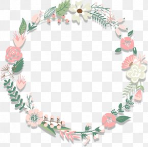 Flowers Ring - Download Wreath Flower PNG