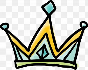 Cartoon Doodle Princess Crown - Drawing Graffiti Clip Art PNG