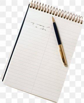Paper Sheet Image - Paper Notebook Clip Art PNG
