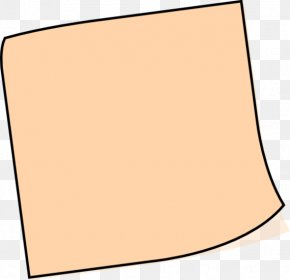 Sticky Note - Post-it Note Paper Sticky Notes Clip Art PNG