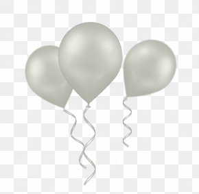 White Balloon - Hair We Are Salon @ Perling Mall Birthday Balloon Clip Art PNG