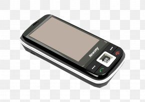 Black Smartphone - Smartphone Feature Phone Mobile Phone PNG