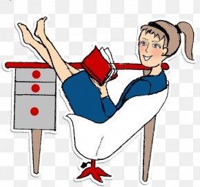 Relaxation Cartoon Download - Finger Clip Art Ponytail Girl Human Behavior PNG