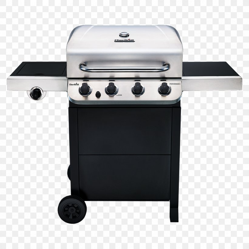 Barbecue Char-Broil Performance 463376017 Char-Broil Performance 4 Burner Gas Grill Grilling, PNG, 1000x1000px, Barbecue, Bbq Smoker, Brenner, Charbroil, Charbroil Classic 463874717 Download Free