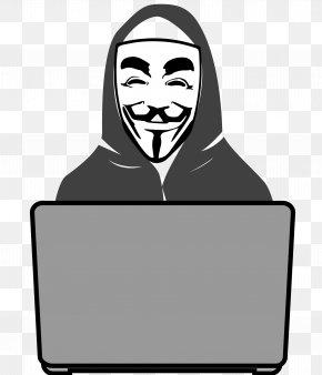 Hacker - Security Hacker Anonymous Clip Art PNG