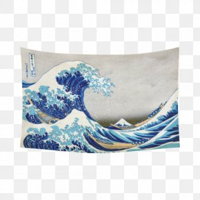Painting - The Great Wave Off Kanagawa Painting Art Thirty-six Views Of Mount Fuji Printmaking PNG