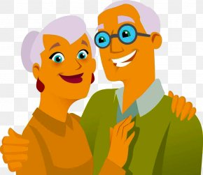 Foreign Old Couple - Royalty-free Free Content Stock Photography Clip Art PNG