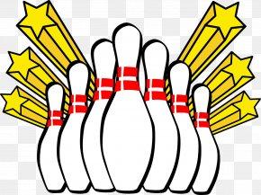 Bowling - Bowling Pin Ten-pin Bowling Bowling Ball Clip Art PNG