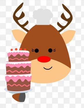 Reindeer - Reindeer Moose Clip Art PNG