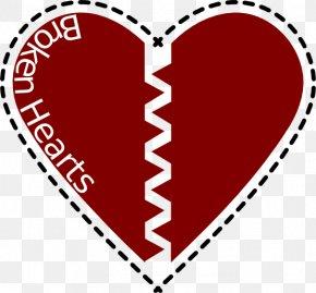 Pictures Of Feelings - Broken Heart Clip Art PNG