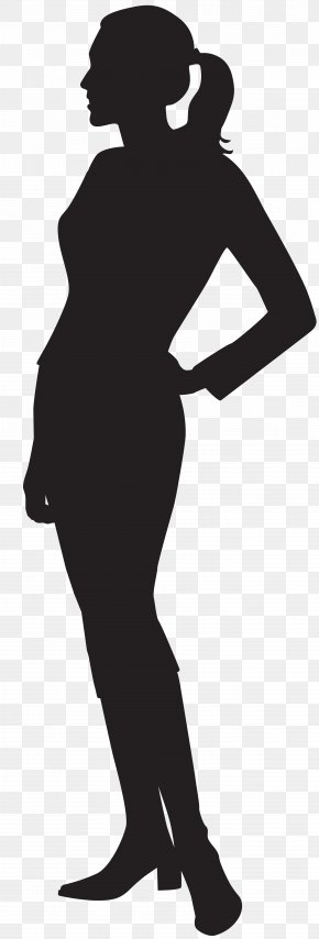 Female Silhouette Clip Art Image - Silhouette Clip Art PNG