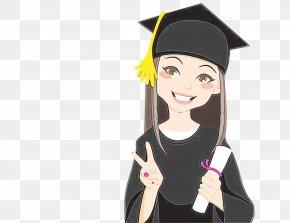 Graduation Ceremony Vector Graphics Graduate University Stock Illustration Cartoon PNG