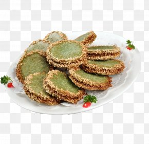 Product Green Tea Pie - Green Tea Dim Sum Pancake Cookie PNG