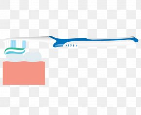 Vector Toothpaste Toothbrush To Clean Teeth - Toothbrush Clip Art PNG