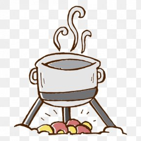 Cookout Image - Clip Art Cooking Cookware Camping Food PNG