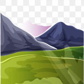 Mountain - Mountain Euclidean Vector PNG