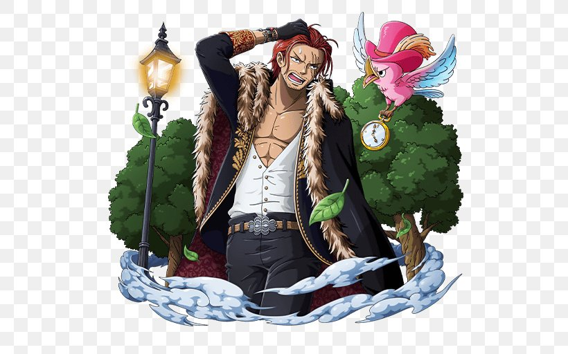 Shanks One Piece Treasure Cruise Monkey D. Luffy Dracule Mihawk Trafalgar D. Water Law, PNG, 640x512px, Shanks, Buggy, Charlotte Linlin, Dracule Mihawk, Eustass Kid Download Free