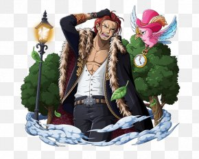 One Piece - Shanks One Piece Treasure Cruise Monkey D. Luffy Dracule Mihawk Trafalgar D. Water Law PNG