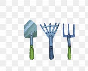Vector Blue Tool Tip Pry Fork - Tool Shovel Euclidean Vector PNG