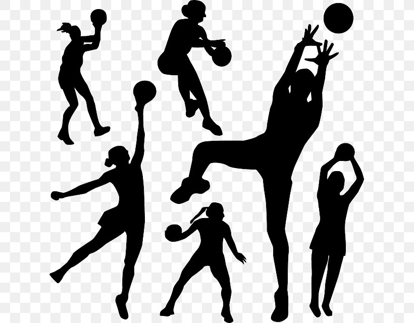 Sport Netball Clip Art Png 623x640px Sport Ball Basketball Black And White Gymnastics Download Free