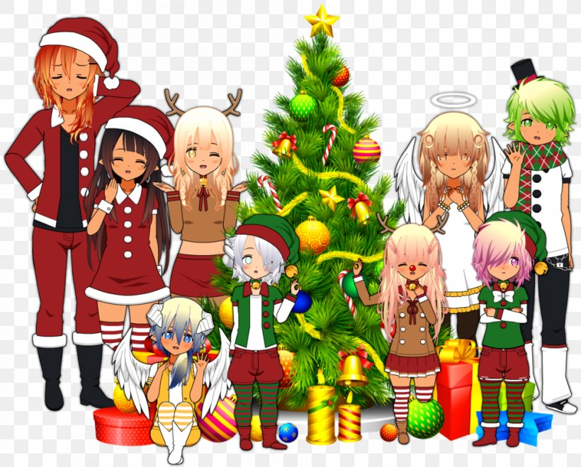 Christmas Tree Santa Claus Christmas Day Christmas Elf Art, PNG, 997x802px, Christmas Tree, Angel, Art, Artist, Christmas Download Free