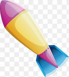 Flying Rocket - Flight Rocket PNG