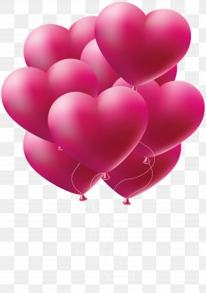 Pink Balloon - Pink Clip Art PNG