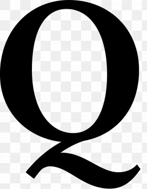 Q & A Cliparts - Letter Cursive Font PNG