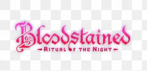 Bloodstained: Ritual Of The Night - Bloodstained: Ritual Of The Night Logo Brand Font PNG